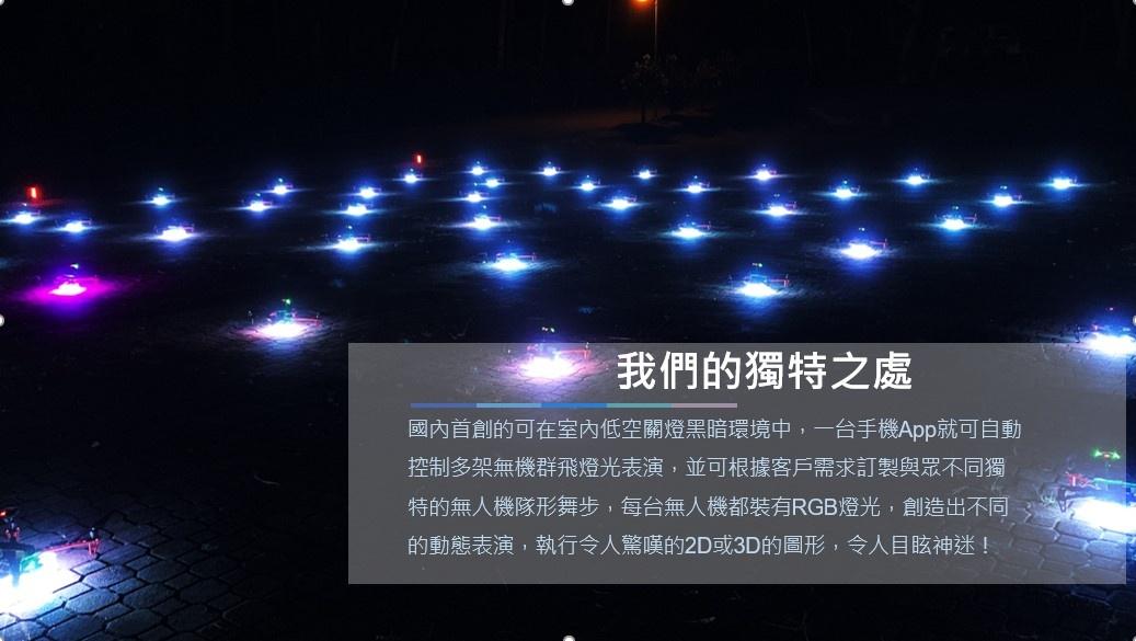 無人機室內燈光秀